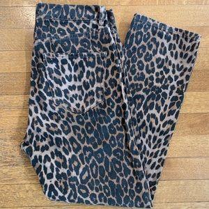 *Like New* Zara Leopard Jeans